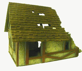 28mm WWII Ruined Cottage