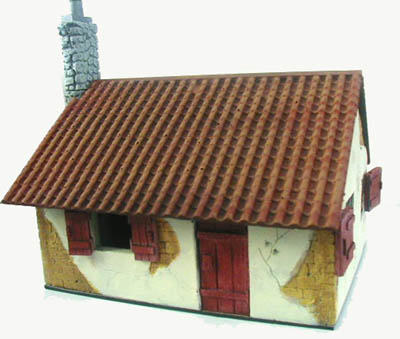 28mm WWII Village Cottage E