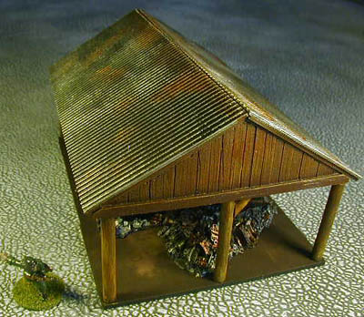 28mm covered STORAGE BUILDINGS