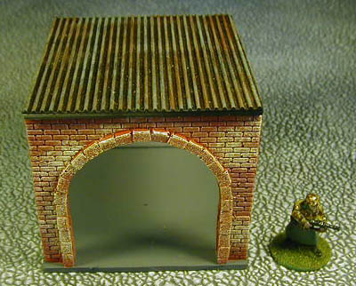 28mm Factory Joining building