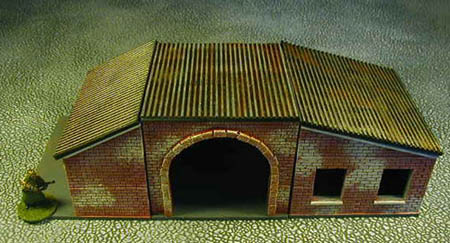 28MM Factory Sheds