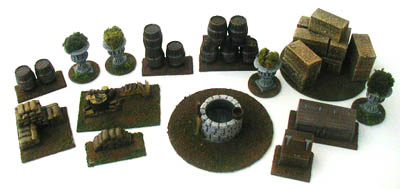 28mm WWII Building Accessories